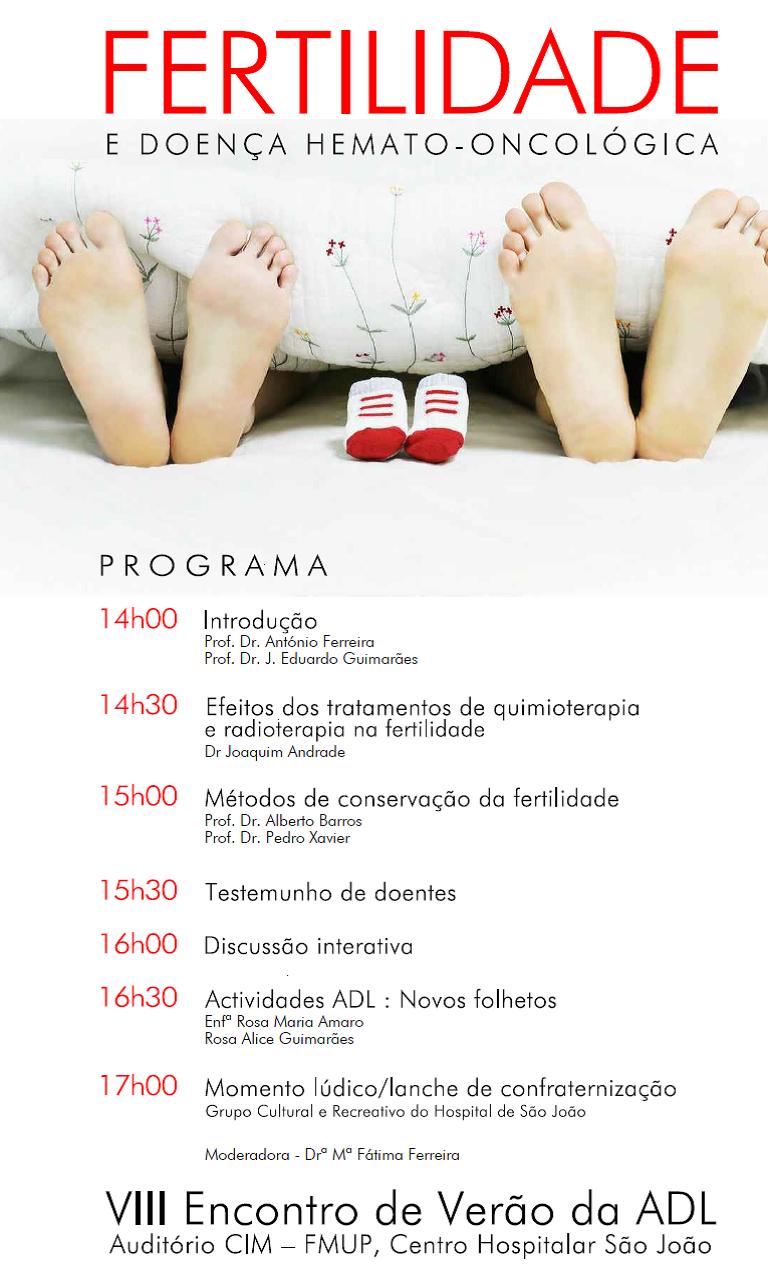 Programa da 8ª Reunião de Verão