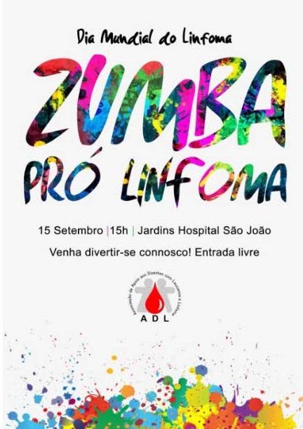 cartaz Dia Linfoma 2018